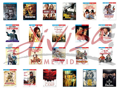 Lanzamientos de julio en DVD y Blu-ray de Divisa Home Video