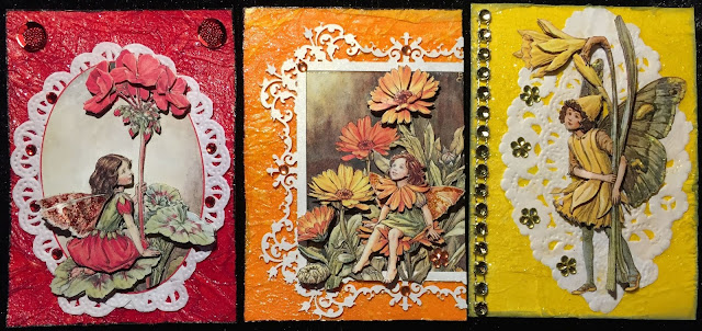 Flower Fairies ATC