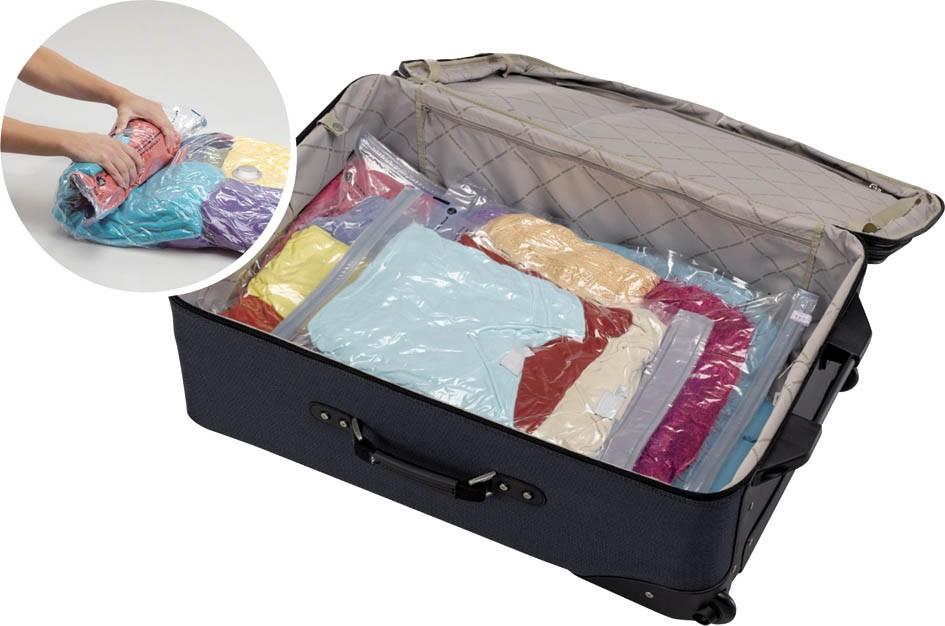 5 trucos para empacar mejor tu maleta cuando viajes for Bolsas para guardar ropa