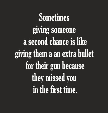 Giving Someone A Second Chance Quotes On Quotestopics
