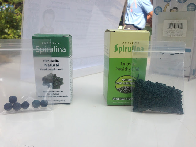 Spiruline du Cambodge dans son conditionnement