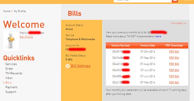 Cara Untuk Semak dan Bayar Bil TM Terkini Secara Online