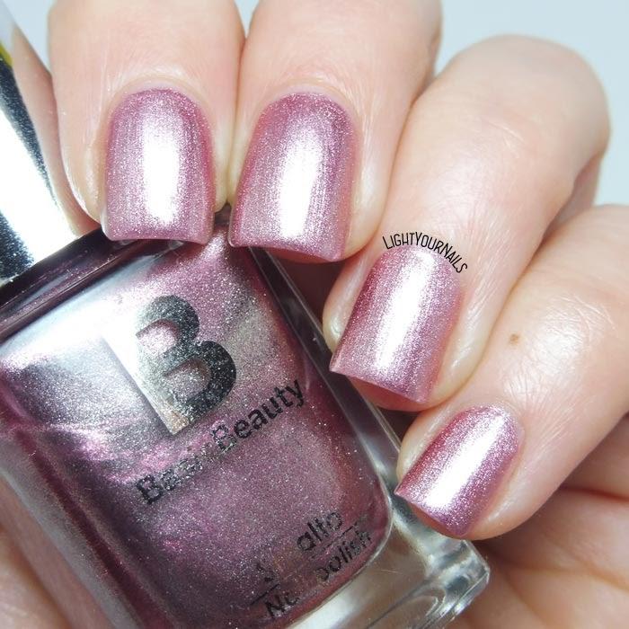 Smalto rosa Basic Beauty 116 pink foil nail polish #nails #manicure #lightyournails