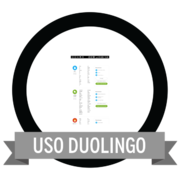 Uso duolingo badges