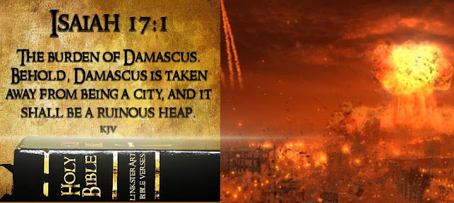 The Attack On Syria, Predicted In The BIBLE As A SIGN Of The End Of The World?