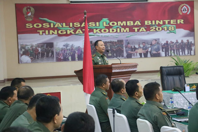 Pusterad Bakal Lombakan Pembinaan Teritorial