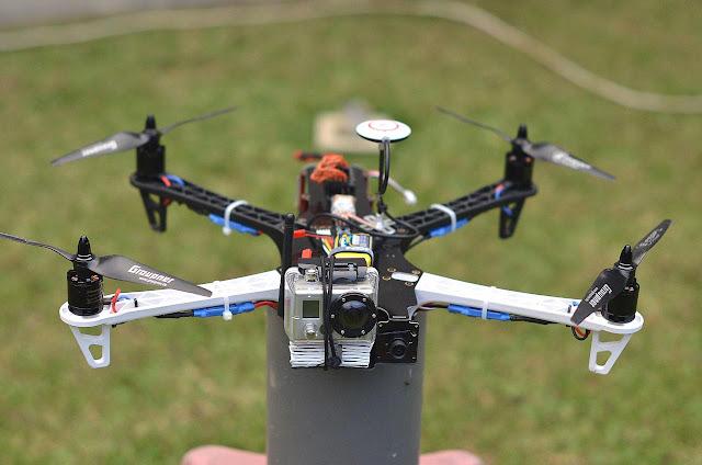 Quadcopter Drone yang kedua (Wahana ke 4) yang pernah saya rakit