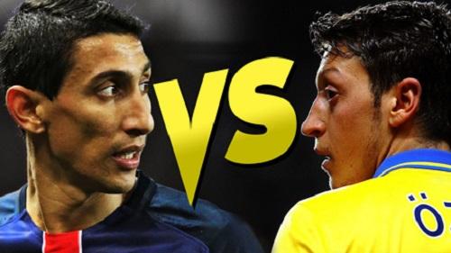 Mesut Ozil gặp Di Maria: ai cười, ai khóc?