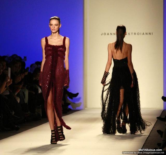 joanna mastroianni fashion show