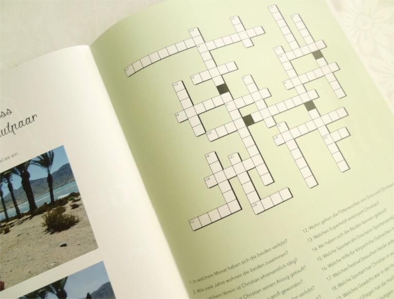 DIY einer Hochzeitszeitung von Trauzeugen für die Hochzeit mit Ideen für Gestaltung und Inhalt