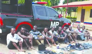 suspected Niger Delta Avengers militants