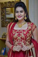 Jenny Honey in Stunning Dark Red Anarkali Dress at Splurge   Divalicious curtain raiser ~ Exclusive Celebrities Galleries 004.JPG
