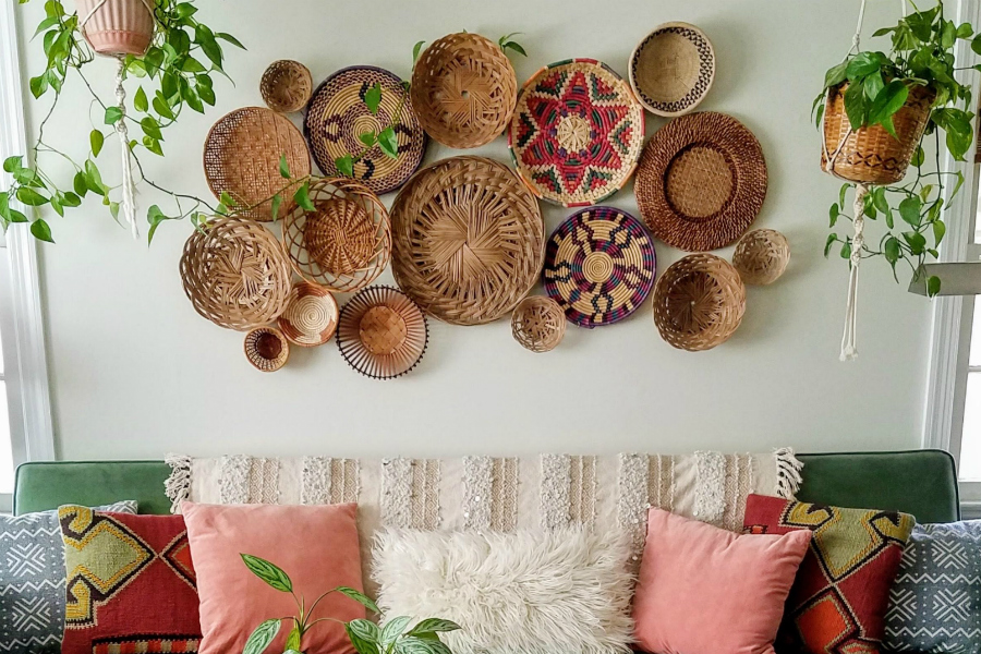 Everything You Need To Know About Basket Walls - The Boho Abode