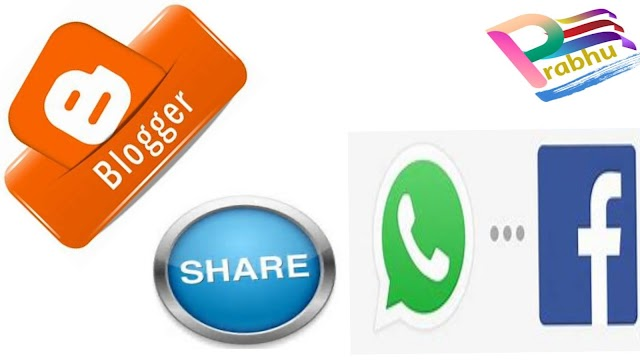 WhatsApp Share Button add in your Blog Site?