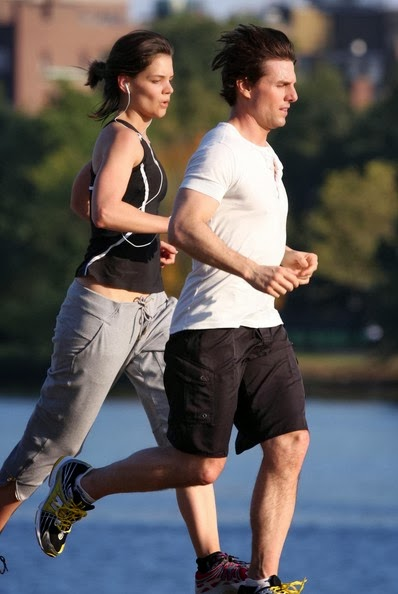 Tom Cruise Jogging