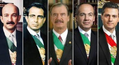 AMLO revive posibilidad de consulta ciudadana para enjuiciar a ex presidentes desde Salinas hasta Peña
