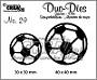 http://www.all4you-wilma.blogspot.com https://www.crealies.nl/nl/detail/1383349/duo-dies-no-29-voetballen-soccerballs.htm