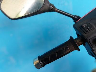 Fungsi Bar-end atau Jalu Stang Motor yang Sering Tidak Diketahui