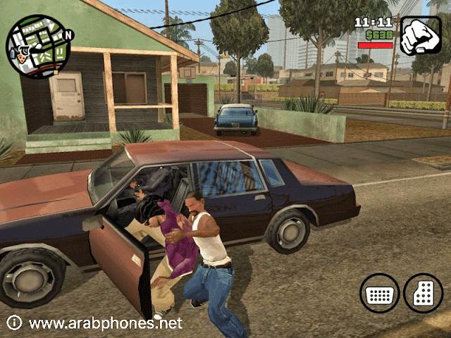 تحميل لعبة GTA San Andreas مهكرة للاندرويد مجانا