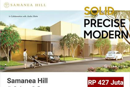 Samania Hill,Jln Sudamanik,Parung Panjang
