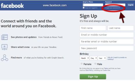 Facebook Login Sign Up For Free
