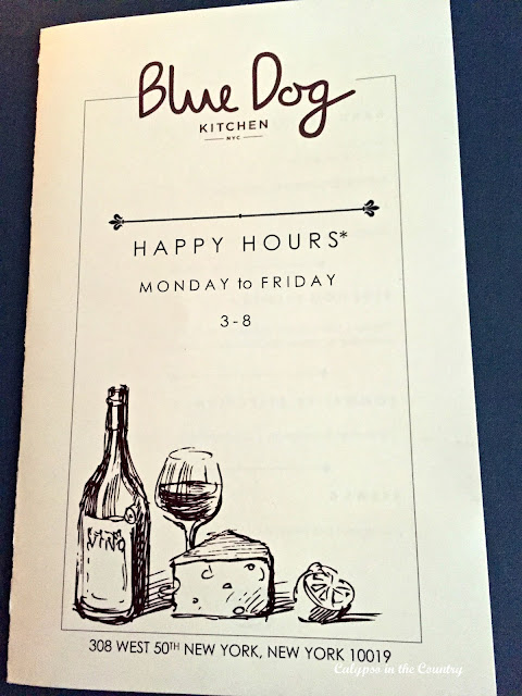 Blue Dog Kitchen - Great restaurant in the theater district NYC