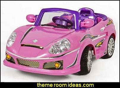 Pink Kids Ride on Car Remote Control