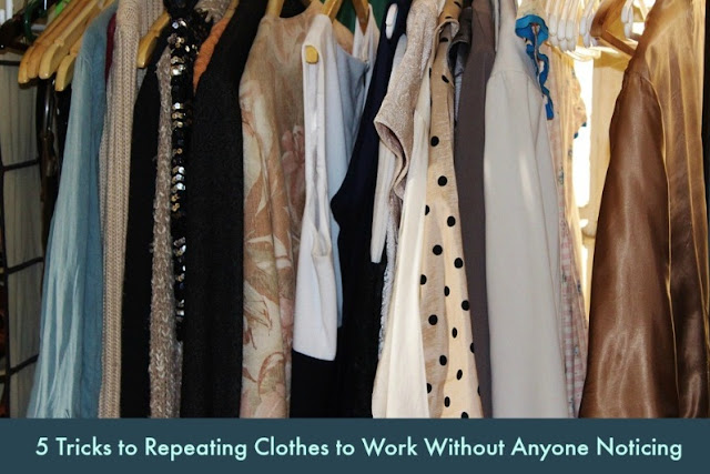 5 Tricks to Repeating Clothes to Work Without Anyone Noticing