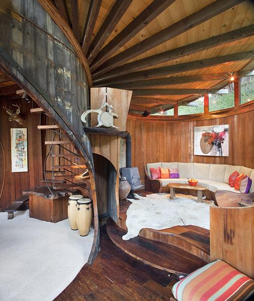 Vw Crystal Lake >> Moon to Moon: Richard Olsen's Handmade Houses