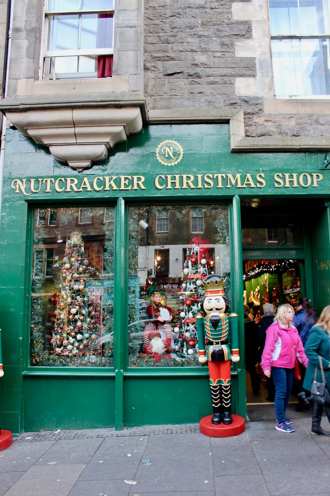Nutcracker Christmas Shop in Edinburgh