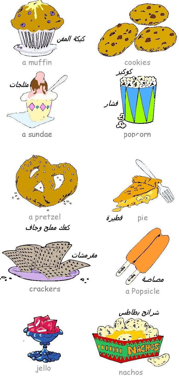 تعليم أسماء الوجبات السريعة فى اللغة الإنجليزية بالصور snacks-الوجبات السريعة فى اللغة الإنجليزية - تعلم أسماء الوجبات السريعة بالإنجليزية - الوجبات السريعة وزيادة الوزن - السمنة والوجبات السريعة -أضرار الوجبات السريعة - تعليم اللغة الإنجليزية للأطفال - تعليم الإنجليزية بالصور-snacks-snack food-snacks for kids