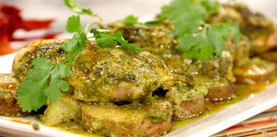 Exquisito pollo al horno con salsa de limón y cilantro, prepáralo para una comida especial o simplemente para sorprender a tu familia.