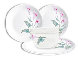 6-pc Corelle Lilyville Set