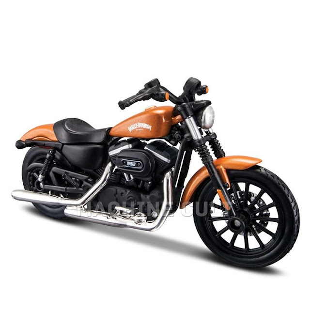 Miniatura Harley-Davidson 2014 Sportster 883 Iron - Série 34 - Maisto 1:18