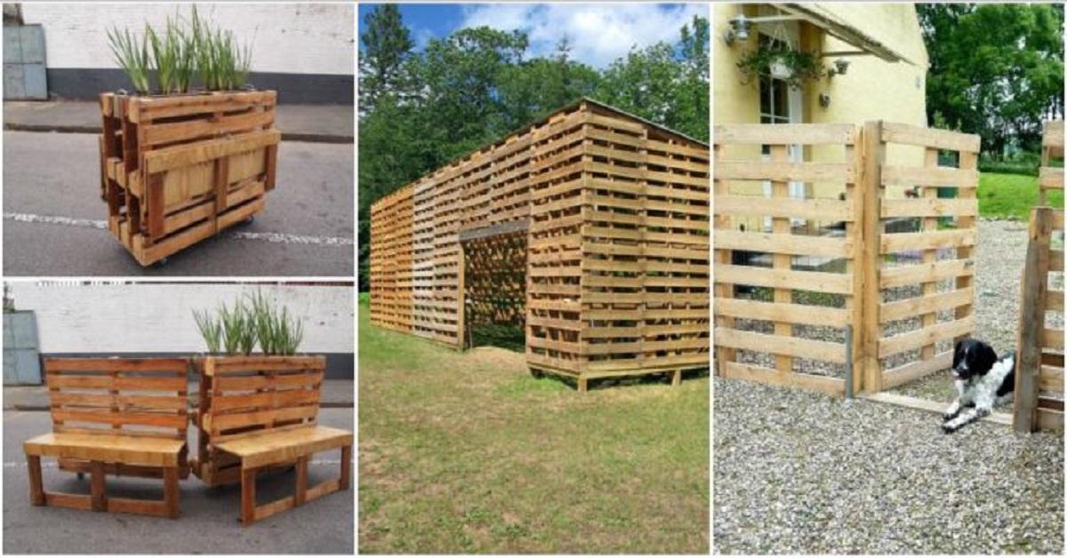 increíbles ideas de patio pequeño 10 Ideas Increbles Que Puedes Hacer Con Palets Que