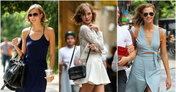 6968f3023b2b Knots and Ruffles  Get the Style  Karlie Kloss Street Style Summer 2015
