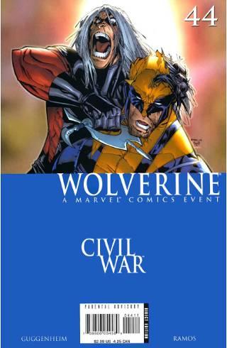Civil War: Wolverine #44 PDF