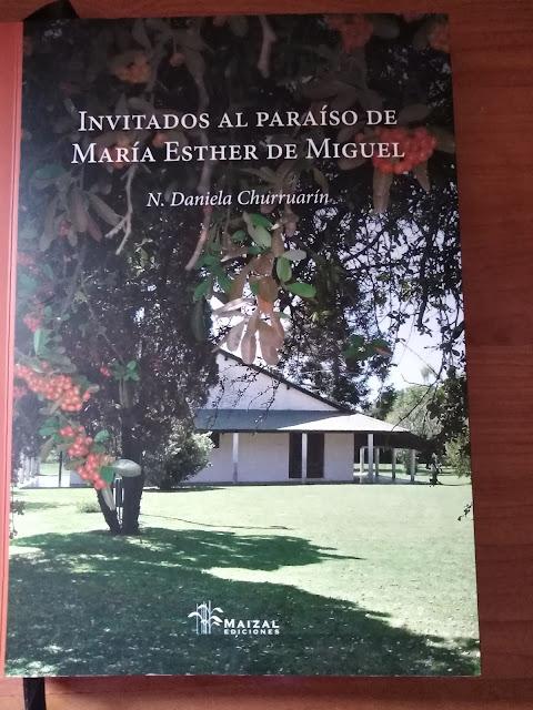 INVITADOS AL PARAÍSO DE MARÍA ESTHER DE MIGUEL