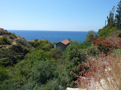 my cycling route from a possible Cyprus home