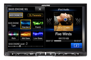 DVD xe hoi Alpine X008EU