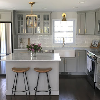 Light-Grey-Kitchen-Cabinets-Simple