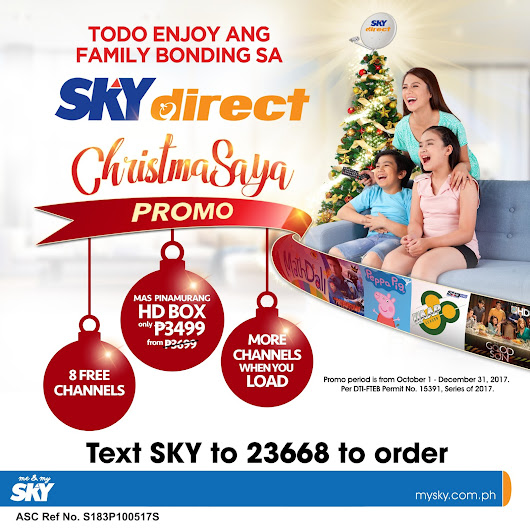 Super Family Bonding with SKYdirect CHRISTMASAYA Promo
