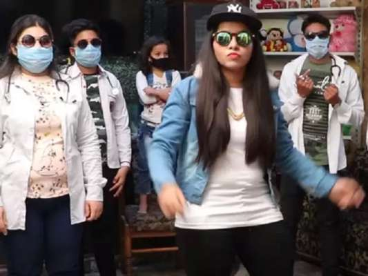 Dhinchak Pooja composed a song on Coronavirus, the video is being watched a lot