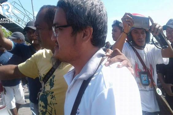 Jonru di Usir Warga Saat Berkunjung Ke Kabupaten Sikka