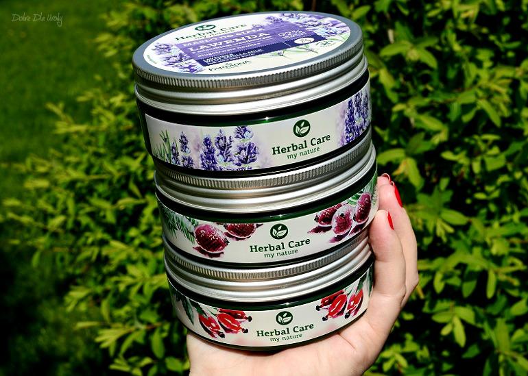 Pielęgnacja ciała Farmona Herbal Care - Masła do ciała Buriti, Dzika Róża oraz Lawenda  recenzja