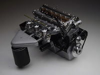 Jaguar XKE - E-type Revell 1/8 Monogram engine