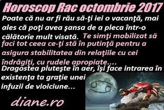 Horoscop octombrie 2017 Rac