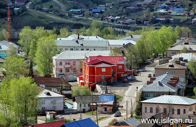 Гора Шиханка. Город Нязепетровск. Челябинская область