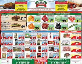 Akhavan Supermarche Flyer January 4 – 10, 2017