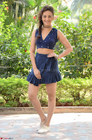 Seerat Kapoor Stunning Cute Beauty in Mini Skirt  Polka Dop Choli Top ~  Exclusive Galleries 063.jpg